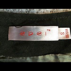ebei Skirts - Faux Leather Mini Skirt.